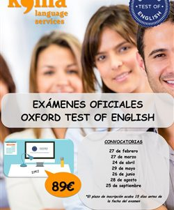 exámenes Oxford