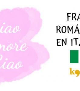 Frases románticas en Italiano