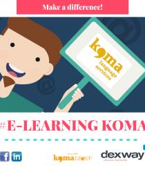 Cursos de idiomas 100% online: Koma E-learning