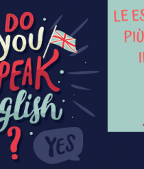 Le espressioni più usate in inglese