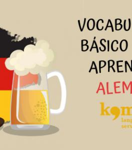 vocabulario básico para aprender Alemán