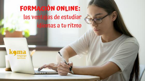 Ventajas de estudiar idiomas online