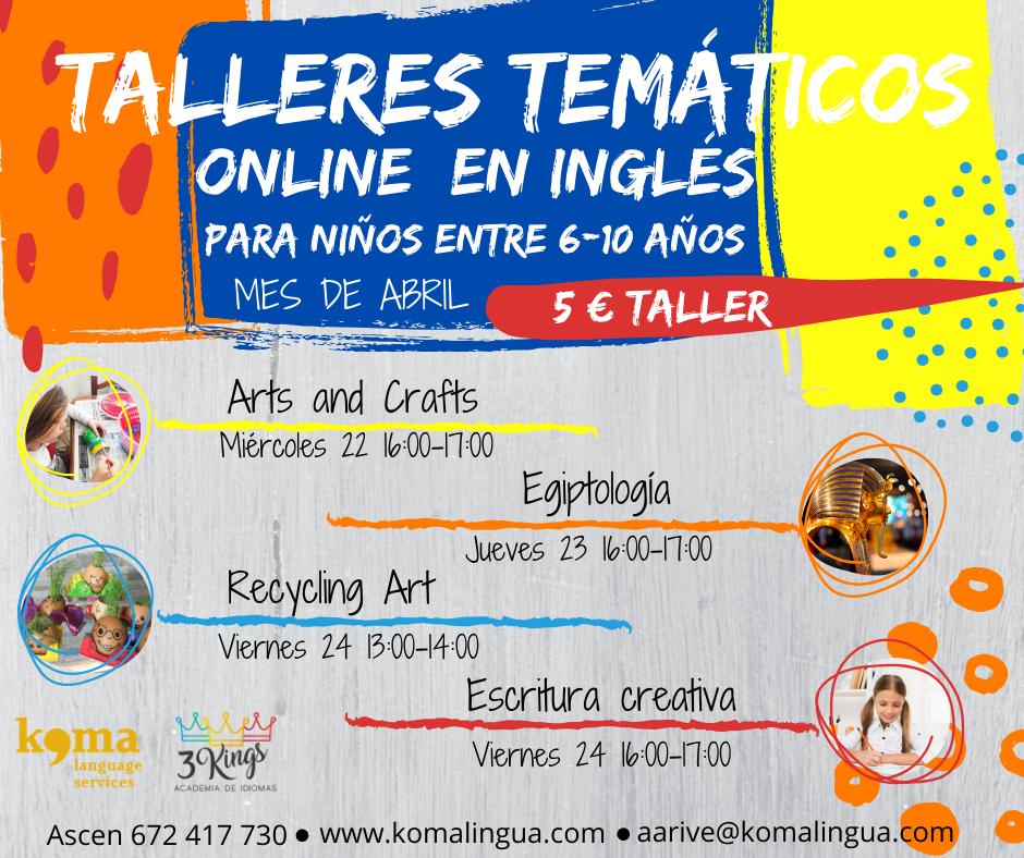 Actividades en inglés online