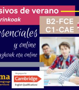 Cursos de Inglés preparación exámenes Combridge