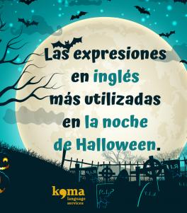 Las expresiones en inglés más utilizadas en la noche de Halloween
